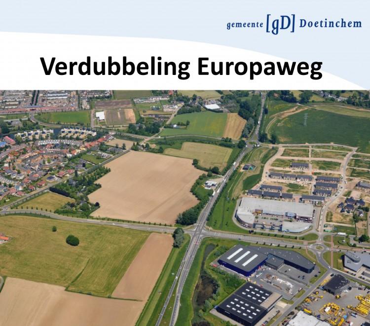 foto Verdubbeling Europaweg aangepast